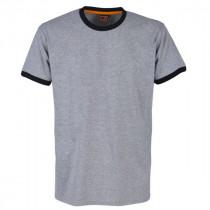 Tee-shirt Bosseur sans marquage Gris-chiné
