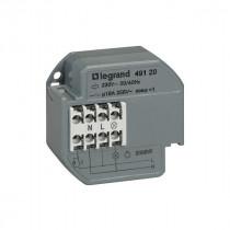 Télérupteur Unipolaire Encastré 10A 50mA 230V 50/60hz, Legrand 049120