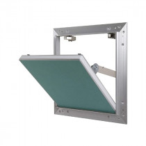 Trappe de Visite Alu Plaque de Plâtre Hydro 400 x 400 mm Semin A03612