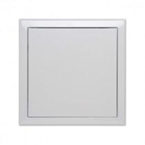 Trappe de Visite Métallique Laquée Blanc 200 x 200 mm Semin A03617