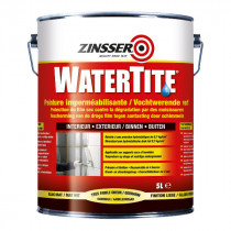 Peinture Imperméabilisante Blanche Watertite Zinsser 3,75 litres