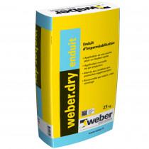 Enduit épais d'Imperméabilisation Weber.Dry Enduit 25 kg