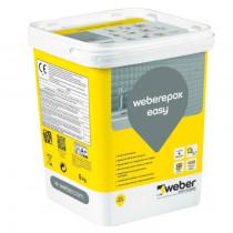 Colle et Joint Epoxy Weberepox Easy Gris Acier 5 kg