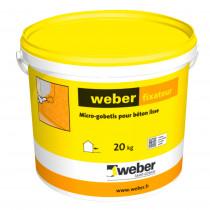Micro Gobetis pour Béton Lisse Weber Fixateur 20 kg