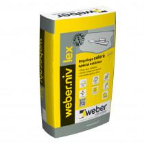 Ragréage spécial Sol Extérieur Weber.Niv Lex Gris Ciment 25 kg