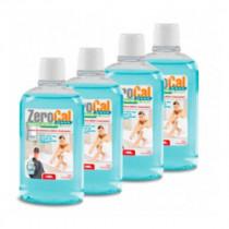 4 Bidons Anti-tartre 500 ml, installation sanitaire Zerocal GEL