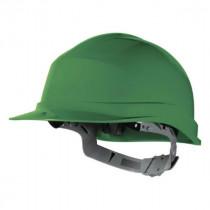 Casque de Chantier DeltaPlus Zircon 1 Vert, Taille Ajustable