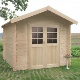 Abri de jardin bois autoclave SOLID modèle NIMES 238x238cm