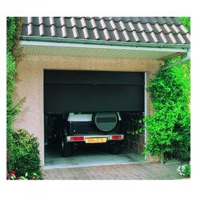 Porte de garage sectionnelle motoris e 200x300 cm blanc - Porte de garage sectionnelle 300 x 200 ...