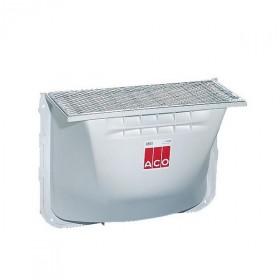 Cour anglaise ACO 80x60x40 cm grille acier caillebotis 30x30 mm