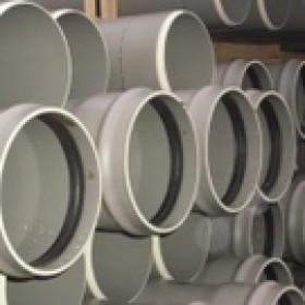 Tuyau PVC assainissement CR8 à joint Diam.160 mm L.3 m