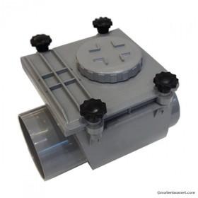 Clapet anti retour PVC MF diam 160 mm à coller, l'unité