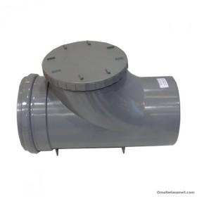 Clapet anti retour PVC MF diam 200 mm à coller, l'unité