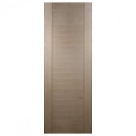 Porte intérieure Izen bois exotique 1 panneau, 204x73 cm, rive droite