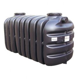 Cuve récupération eau de pluie Sotralentz, stockage enterré, QR 8000 l