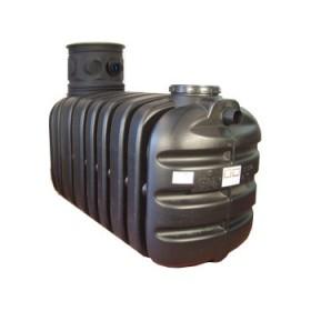 Cuve récupération eau de pluie Sotralentz avec filtre sinus, QR 4000 l