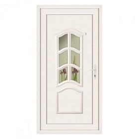 porte de service pvc 9 carreaux gauche 205 x 90 cm. Black Bedroom Furniture Sets. Home Design Ideas