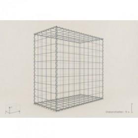 gabion rectangle 100x80x50 fil 4 mm maille 5x10. Black Bedroom Furniture Sets. Home Design Ideas