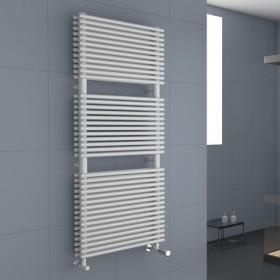 Radiateur sèche serviette eau chaude mixte CORDIVARI Lucy Plus 1018W