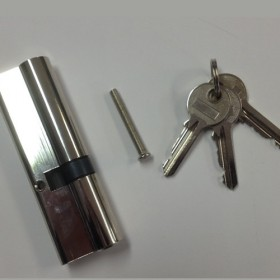 Barillet pour porte de service pvc 40 x 50 mm for Fenetre 40x60