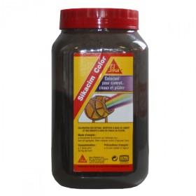 Colorant noir Sikacim Color en poudre, la dose de 700 gr