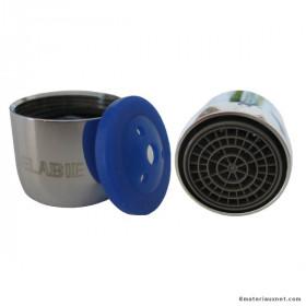 Mousseur anti-tartre Delabie avec joint économiseur d'eau F22, 2 pièces