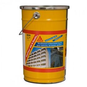 Revêtement d'étanchéité Sikafloor 400 N elastic, seau de 6 Kg