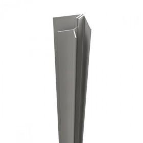 Angle intérieur bardage PVC, longueur 5m, Coloris au choix