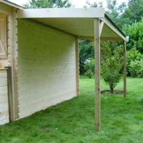 Bûcher pour Abris de Jardin Autoclave Solid Traditionnel 132 x 226 cm
