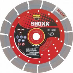 Disque Diamant Béton Shoxx x17 Samedia ⌀ 350mm x 25,4mm