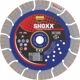 Disque Diamant Granit Shoxx GT 17 Power Samedia ⌀ 300mm x 22,23mm