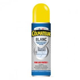 Le Colmateur blanc, spray bitumeux d'étanchéité, bouteille de 405 ml