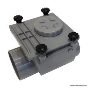 Clapet anti retour PVC MF diam 110 mm à coller, l'unité