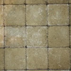 Pavés tambourisés 15 x 15 x 5 cm Cambelstone couleur Blanco, la palette de 13,5 M2