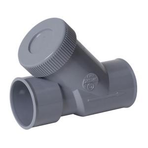 Clapet anti retour PVC diam 40 mm, Nicoll CASH4