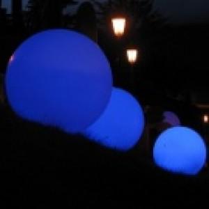 Sphère lumineuse diamètre 78 cm, couleur au choix, l'unité