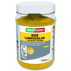 Colorant Jaune 332 Lankocolor Mortiers Ciments ParexLanko, 450 g