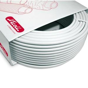 Tube nu multicouche Fluxo 20x2 mm couronne 100 m Nicoll