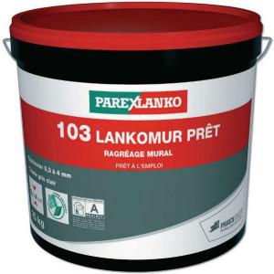 Mortier de Ragréage Lankomur Pret 103 gris, seau de 25kg