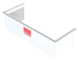 Rehausse Ajustable pour cour anglaise ACO 60 X 100 cm