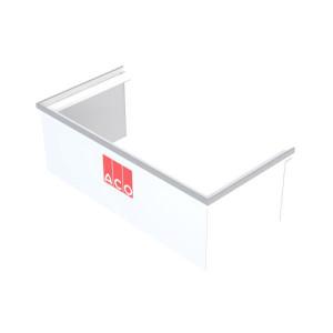 Rehausse Fixe pour Cour Anglaise ACO 80x40 cm