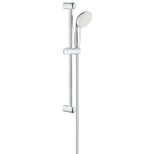 Set de Douche, Barre, Pommeau & Flexible Grohe Tempesta 100, 1 jet