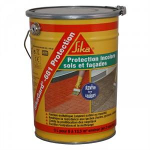 SIKAGARD 681 Protection incolore pour sols et façades seau de 3 l
